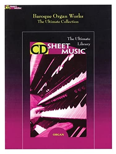 9781423428374: Baroque Organ Works: The Ultimate Collection (9x12)