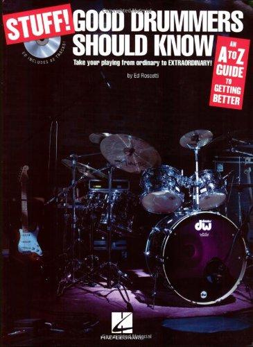 9781423428480: Stuff! Good Drummers Should Know BK/CD
