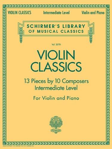 9781423428503: Violin Classics: Schirmer's Library of Musical Classics Volume 2078 Intermediate Level