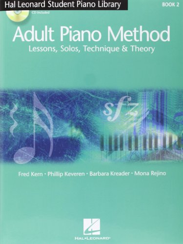 9781423428565: Hal Leonard Adult Piano Method: Lessons, Solos, Technique & Theory Book 2
