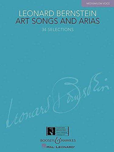9781423428602: Leonard Bernstein - Art Songs and Arias: Medium/Low Voice