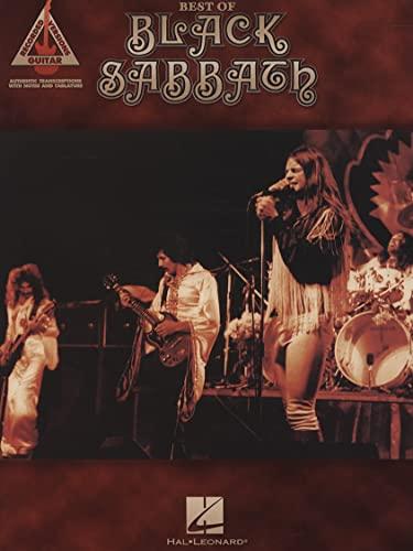 9781423429623: Best of Black Sabbath Guitare (Recorded Versions Guitar)