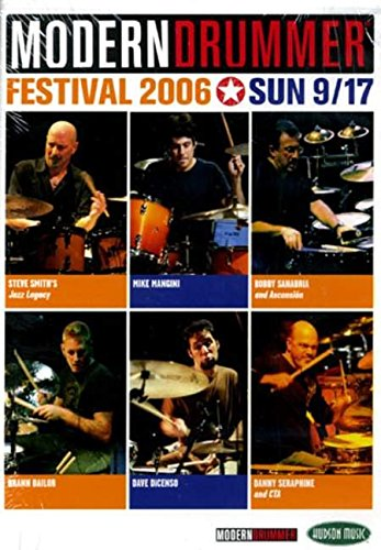 9781423430377: Modern Drummer Festival 2006: Sonntag, 17.09.2006 [Alemania] [DVD]