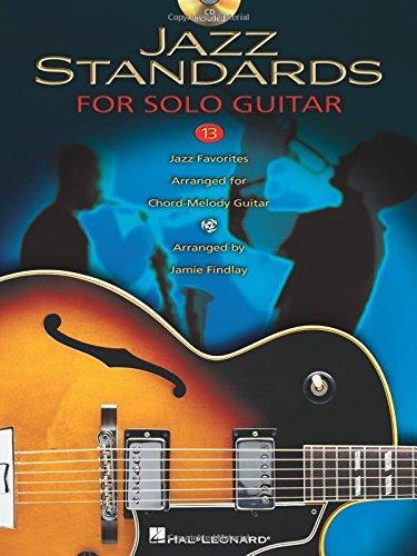 9781423430438: Jazz Standards For Solo Jazz Guitar BK/Online Audio