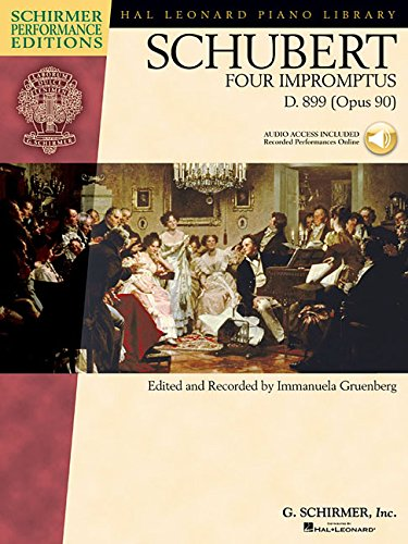 9781423431121: Schubert: Four Impromptus, D. 899 (0pus 90) (Book & CD)