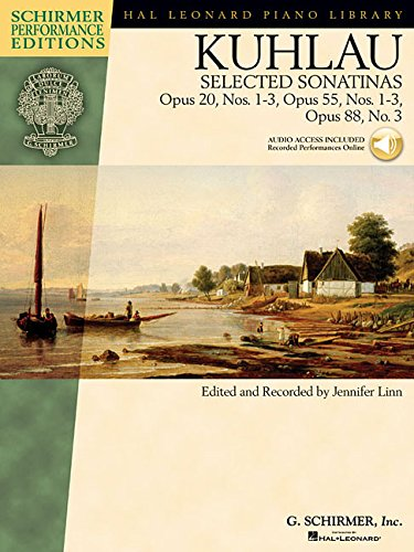 Kuhlau Selected Sonatinas Piano Schirmer Performance Editions