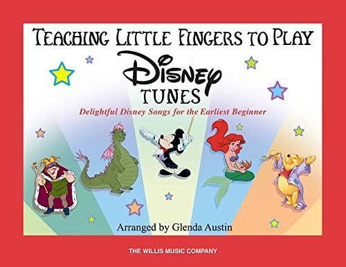 9781423431206: Teaching Little Fingers To Play Disney Tunes Book Only