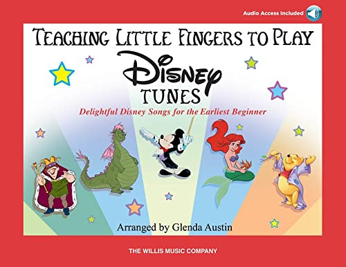 9781423431237: Teaching Little Fingers to Play Disney Tunes Book & Online Audio: Early to Mid-Elementary Level