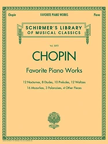 Chopin: Favorite Piano Works: 12 Nocturnes, 8: Chopin, Frederic