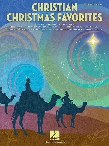 9781423431602: Christian Christmas Favorites (Piano Solo)