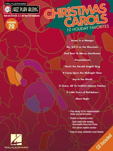 9781423431657: Christmas Carols: Jazz Play-Along Volume 20