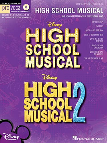 9781423431893: High School Musical Girls Edition Vol.28 BK/CD (Hal Leonard Pro Vocal)