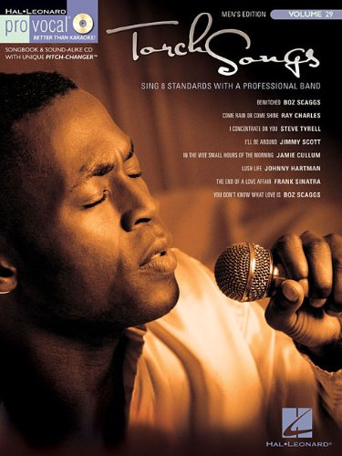9781423431930: Torch Songs Pro Vocal Songbook for Male Singers Vol.29 BK/CD (Hal Leonard Pro Vocal (Numbered))