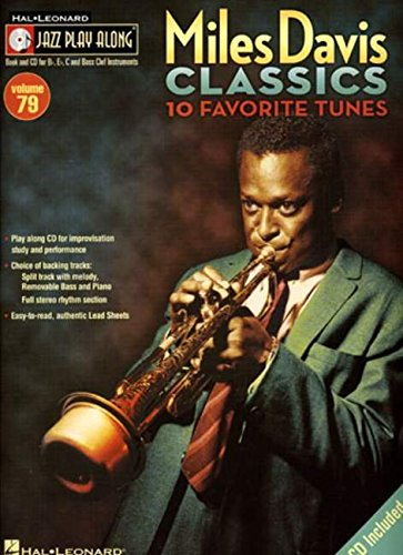 9781423432258: Jazz Play-Along Vol.079 Miles Davis Classics + Cd
