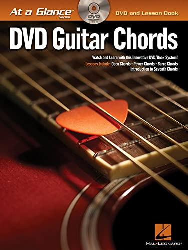 9781423433071: Guitar Chords BK/DVD At a Glance Series DVD and Lesson Book