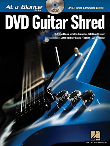9781423433095: Guitar Shred BK/DVD At a Glance Series DVD and Lesson Book
