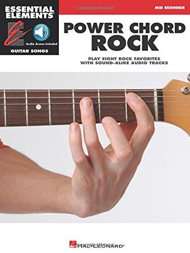 Power Chord Rock: Mid-Beginner (Essential Elements Guitar Songs)