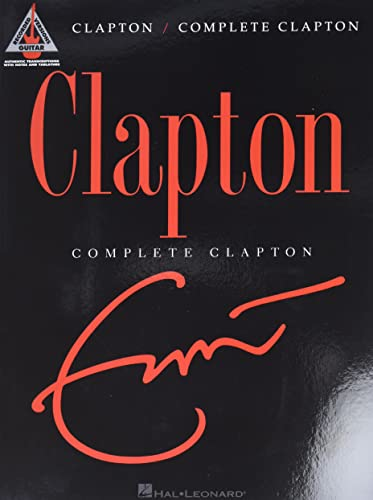 9781423434375: Fender Complete Clapton Songbook Music Staff Paper (Guitar Recorded Versions)