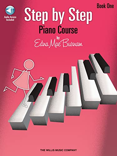 9781423436058: Step by Step Piano Course Book 1 (Bk/Cd Pack) (Step by Step (Hal Leonard))