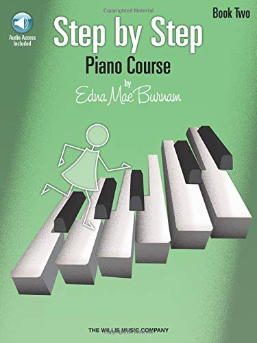 9781423436065: Step by Step Piano Course Book 2 (Bk/Cd Pack)