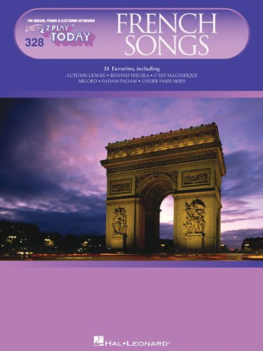9781423436225: French Songs: E-Z Play Today Volume 328
