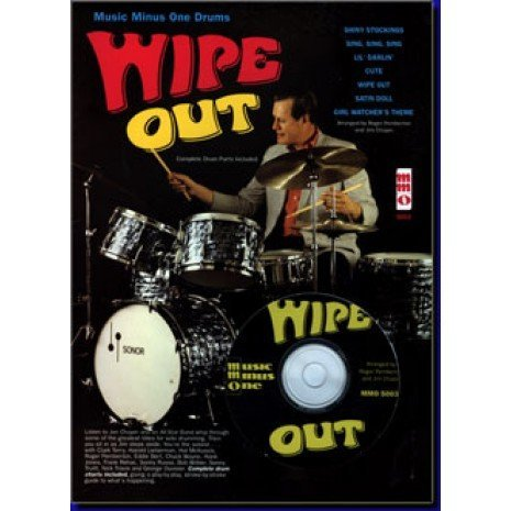 9781423436300: Wipe Out: Music Minus One for Drums
