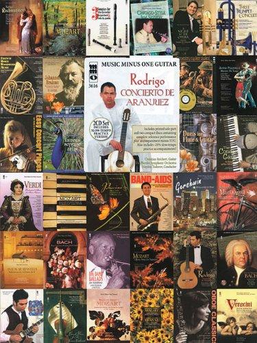 9781423436546: Rodrigo - Concierto De Aranjuez: Guitar Play-Along 2-CD Set (Music Minus One)