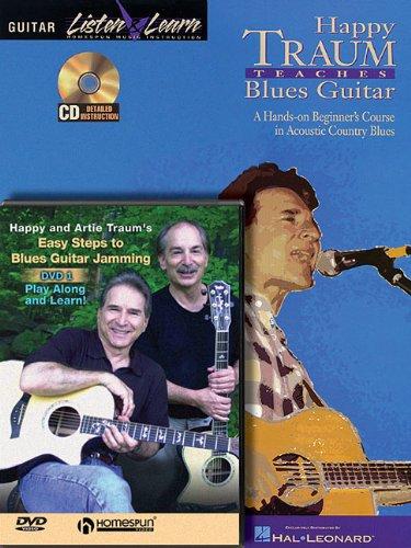 9781423436614: Happy Traum Blues Guitar Bk/CD/DVD