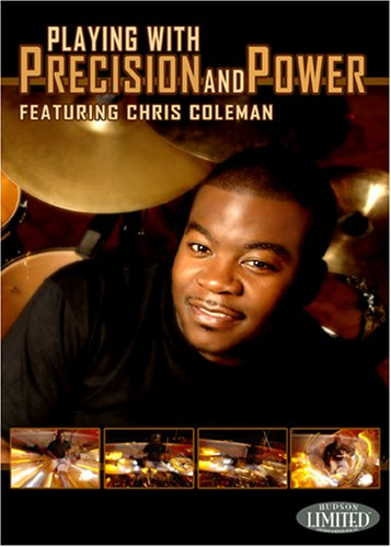 CHRIS COLEMAN PLAYING WITH PRECISION AND POWER DRUM DVD Format: DvdRom