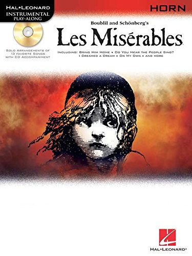 9781423437505: Les Miserables Selections For French Horn BK/CD (Hal Leonard Instrumental Play-Along)