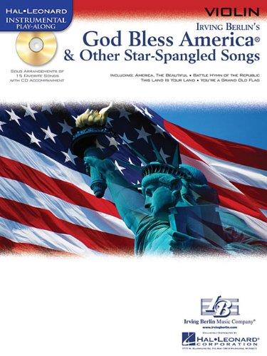 9781423437628: God Bless America & Other Star-Spangled Songs: for Violin (Hal Leonard Instrumental Play-Along)