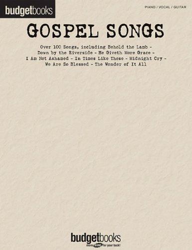 9781423439295: Gospel Songs: Budget Books