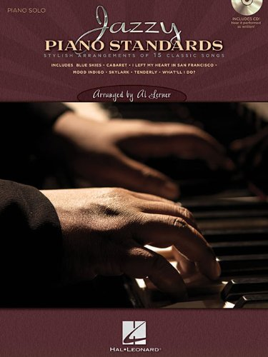 9781423439301: Jazzy Piano Standards - Lush Solo Arrangements Of 15 Classic Songs (CD/Pkg)