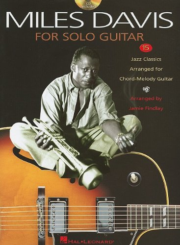 9781423439806: Davis Miles for Solo Guitar 15 Jazz Classics CD