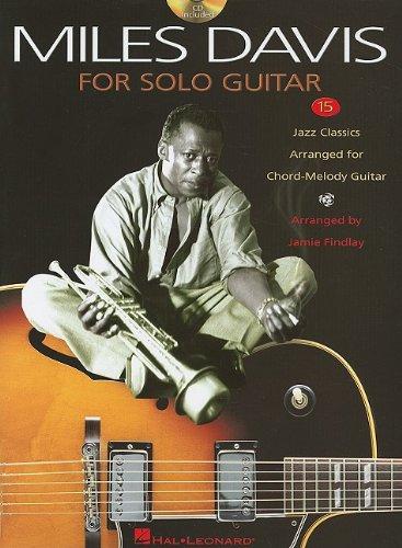 9781423439806: Miles Davis For Solo Guitar
