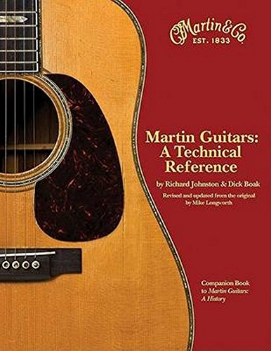 9781423439820: Martin Guitars: A Technical Reference