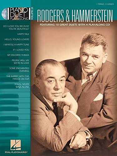 9781423439943: RODGERS & HAMMERSTEIN PIANO DUET PLAY-ALONG VOLUME 22 BK/CD