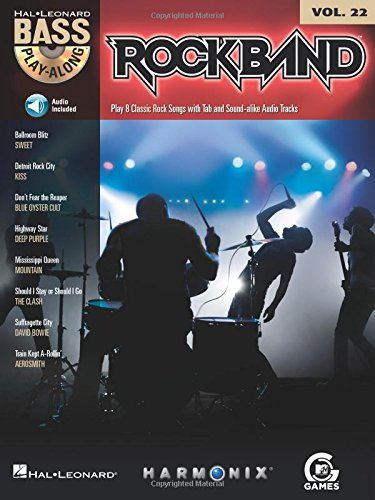 Rock Band: Bass Play-Along Volume 22: Hal Leonard Corp.