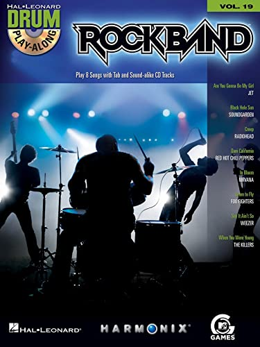 9781423440260: Rock Band - Modern Rock Edition - Drum Play-Along Volume 19 Bk/CD