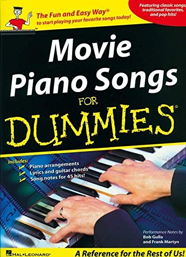 9781423440383: Movie Piano Songs For Dummies