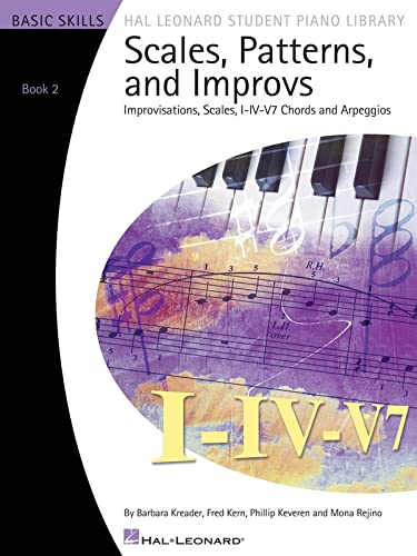 9781423442189: Scales Patterns And Improvs - Book 2 (Book Only) - Hal Leonard Student Library (Hal Leonard Student Piano Library)