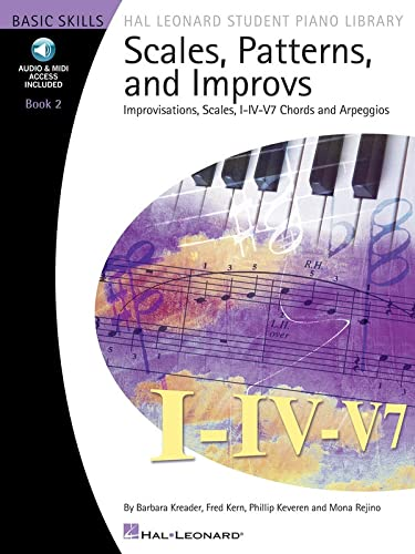 9781423442219: Scales Patterns And Improvs - Book 2 - Hal Leonard Student Piano Library