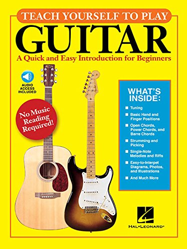 9781423442684: Teach Yourself to Play Guitar -Book/online audio