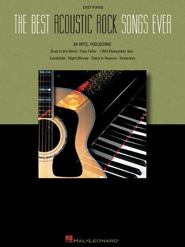 9781423442950: The Best Acoustic Rock Songs Ever Easy Piano Pf Bk
