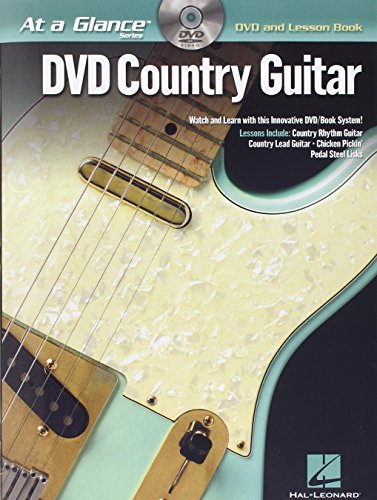 9781423442981: DVD Country Guitar [With DVD] (At a Glance (Hal Leonard))