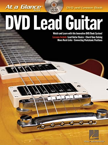 9781423442998: Lead Guitar: DVD/Book Pack (At a Glance (Hal Leonard))