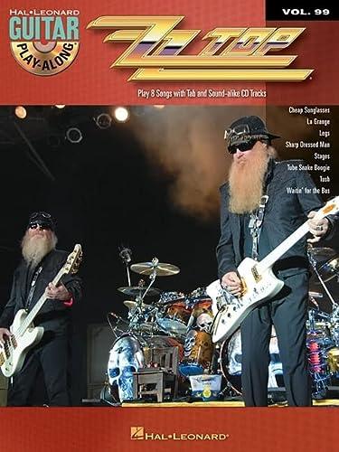 9781423443179: ZZ Top: Guitar Play-Along Volume 99