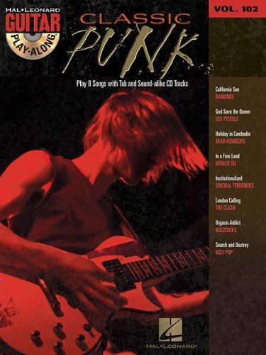 Classic Punk: Guitar Play-Along Volume 102: Hal Leonard Corp.