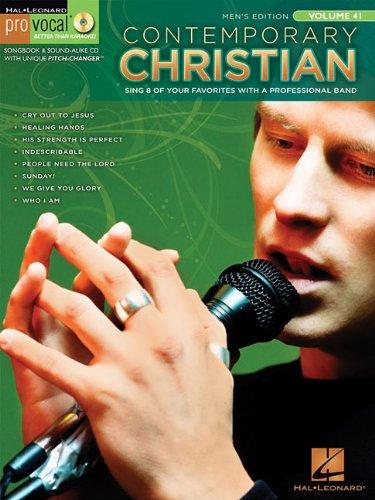 9781423443353: Contemporary Christian: Pro Vocal Men's Edition Volume 41