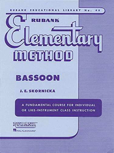 Rubank Elementary Method - Bassoon (Rubank Educational